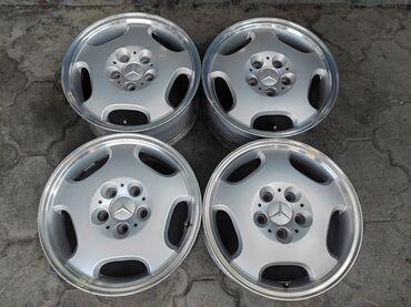 купить диски на авто бишкек в Кыргызстан: Оригинальные диски MERCEDESДиаметр R16Сверловка 5*112Ширина 7.5jВылет