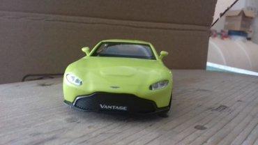 Спорт и хобби в Новханы: #lime #Model N°66 Aston Martin Vantage 2018(Ağ, göy, lime, qırmızı