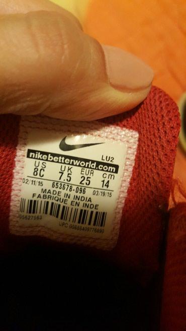 Nike patike br.25 kao nove. kozne. - Pozarevac - slika 3