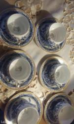 Solje za caj,izuzetno tanak,porcelan ,sa likom gejse,nikad - Beograd