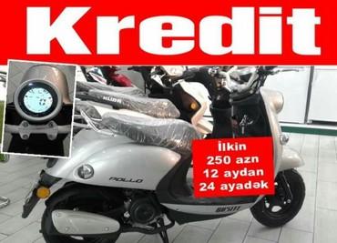 Bakı şəhərində Pollo mopedi