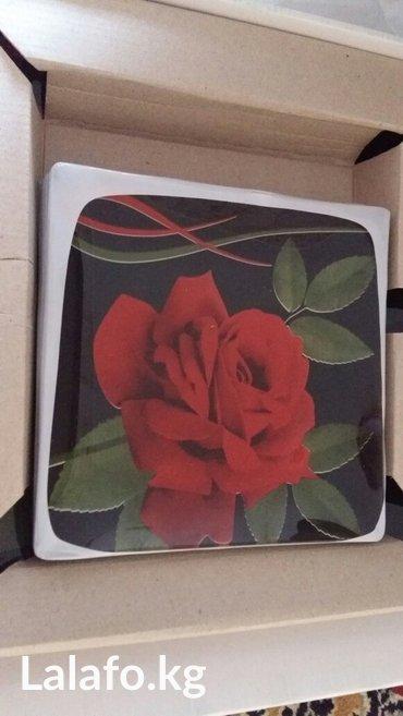 2 набора тарелок 12 средних и 2большие в Бишкек