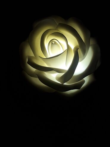 Лампа светильник Розочка