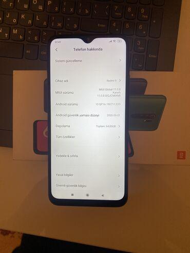 İşlənmiş Xiaomi Redmi 9A 64 GB qara