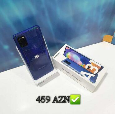 Samsung - Bakı: Samsung Galaxy A31 | 64 GB | qara | Yeni | Zəmanət, Sensor, Barmaq izi