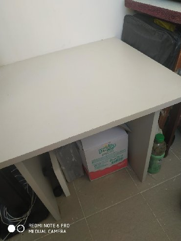 стол цвет венге в Азербайджан: Стол из Турецкого материала б/у,размеры стола 65/55стола лицо,а высота