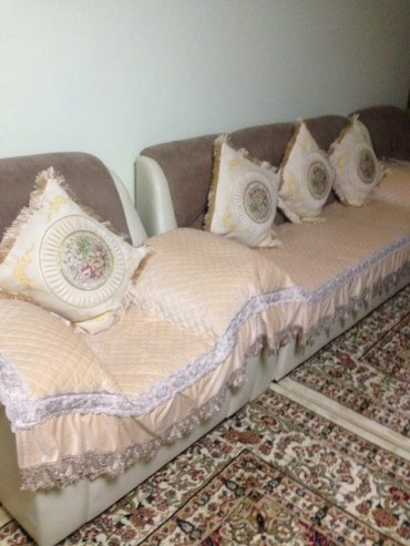 Покрывало для мягкой мебели велюр хб в Бишкек