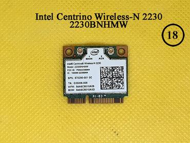 Digər ehtiyat hissələri - Azərbaycan: Intel Centrino Wireless-N 2230WiFi + Bluetooth plata noutbuk ucunBrand