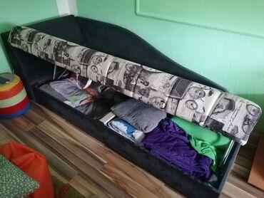 sako sa u Srbija: Krevet samac bez ostecenja sa kutijom za posteljinu
