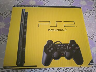 PS2 & PS1 (Sony PlayStation 2 & 1) - Azərbaycan: İşlənmiş yaxşı vəziyyətdə,işlək ps2 satılır.15 oyun diski