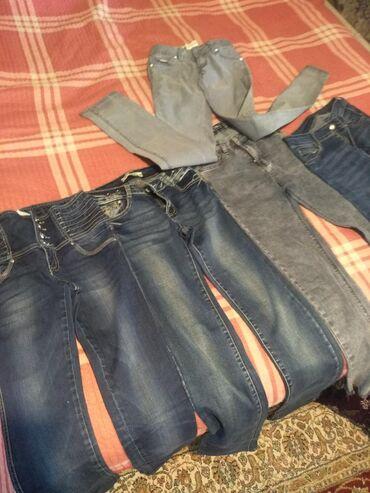 Джинсы - Кок-Ой: Срочно продаю джинсы в отличном состоянии турецкие по 150 сом