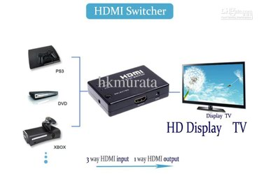 HDMI switch 3 x 1 - 300 с в Бишкек
