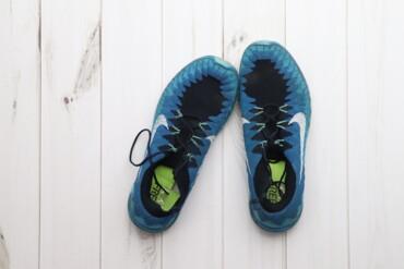 Мужская обувь - Украина: Кросівки чоловічі сині із візерунком Nike р.45,5    Довжина устілки: 2
