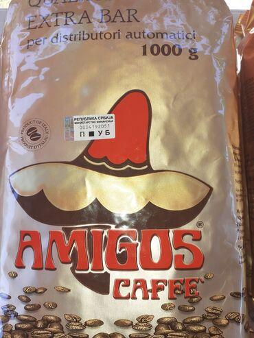 Amiga - Srbija: Akcija! Kafa amigos 4kg (4 x po 1kg) - moze i pojedinacno!