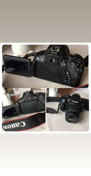 Canon 650 D, Sensor- 22,3 x 14,9 mmPikselin sayı - 18.5