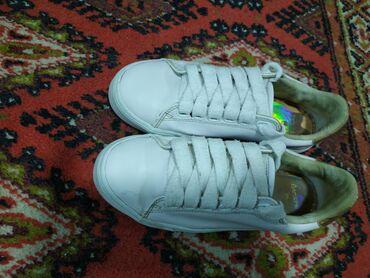 белое платье в пол в Кыргызстан: Кеды фирмы Bershka, возможно уступлю. Размер 36. Состояние норм