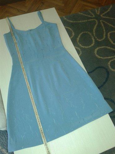 Par puta nosena plava haljina. Kao nova, potrebno samo porubiti jer se - Valjevo