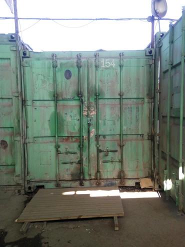 Контейнер 40 тонн на строительном в Бишкек