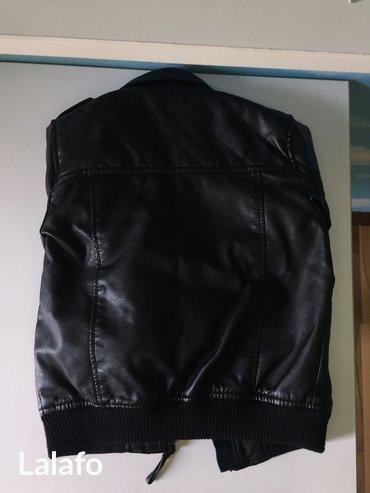 Кожаная куртка, в отличном состояние на возраст 4-5 лет ; 104-110см  б в Бишкек
