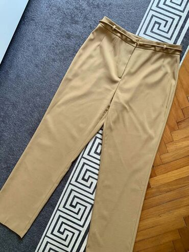 Poslovne pantalone - Srbija: Taifun stretch poslovne pantalone sa kaisicem, prelepe, kao nove