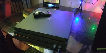 Sony playstation 4 Pro...+ 3 диска в Кара-Балта
