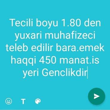 Bakı şəhərində Bara muhafize teleb olunur