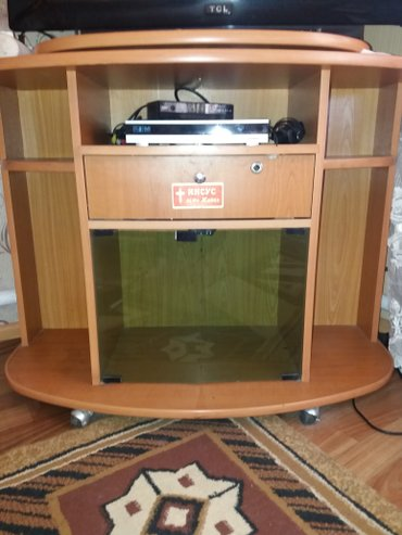 продаю б. у мебель   1. тумба под телевизор    размер :высота в Бишкек