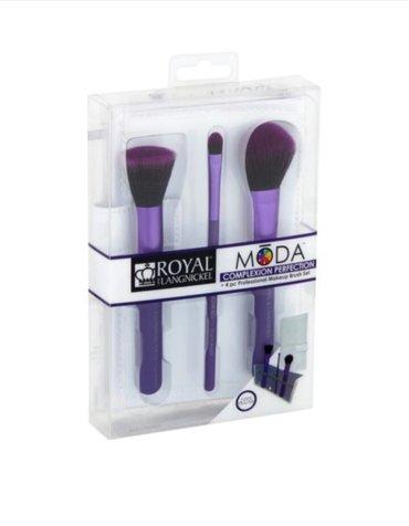 Bakı şəhərində MŌDA® COMPLEXION PERFECTION 4pc Purple Brush set. Yenidir. Cox