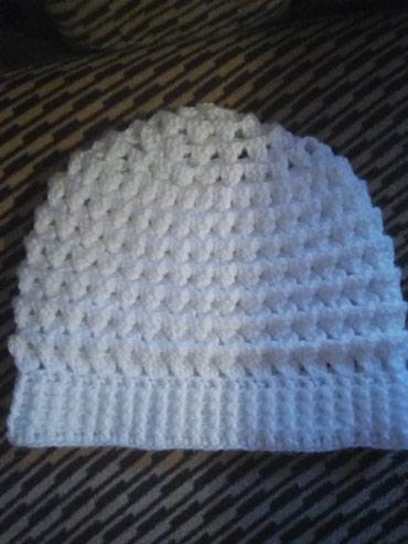 Zenska kapa,rucni rad,izrada po porudzbini - Sokobanja
