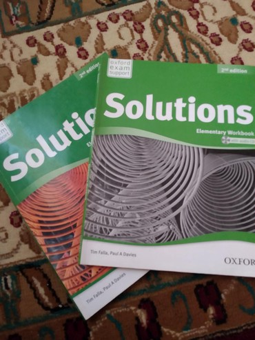 wexler book в Кыргызстан: Solutions Elementary student's book/ work bookSolutions pre