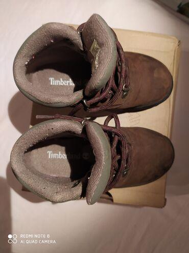 Dečije Cipele i Čizme - Crvenka: Timberland dečje,zimskekožne cipelice br.28,5 unutrašnje gazište