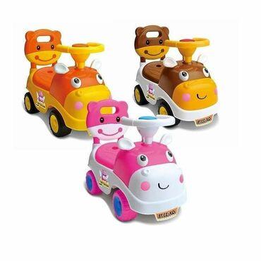 Nov model guralice sa naslonom Tri boje Guralica auto sa naslonom i