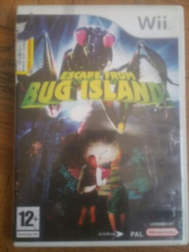 Knjige, časopisi, CD i DVD | Novi Sad: Igrica za Wii Escape from bug island