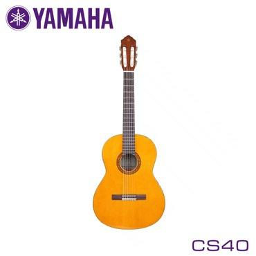 Гитара: Модель CS40 с компактным корпусом и укороченной мензурой