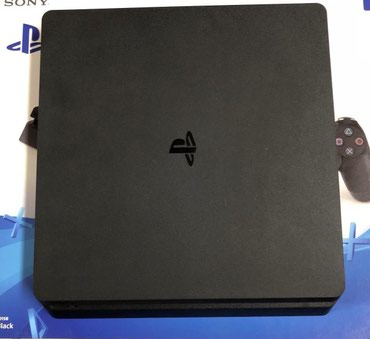 Bakı şəhərində Sony PlayStation 4 1TB PS4 Slim Jet Black Console CUH-2115B