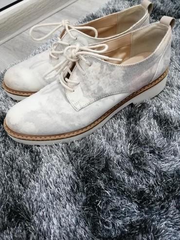 Ženska obuća | Cacak: Oksfordice za jesen, jako lep model nošen vrlo kratko. Odgovara broju