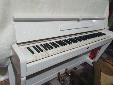 мелодия пианино в Кыргызстан: Продаю белое эстетичное фортепиано, оно не только создаст элегантный и
