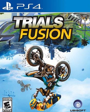 Bakı şəhərində Ps4 ucun trials fusion oyunu bagli upokovkada