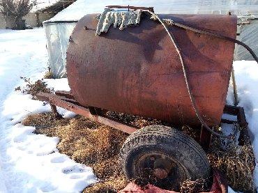 Цистерну на 10 тонн - Кыргызстан: Продаю!!! Цистерну для хронения воды. Колеса новые. Можно использовать