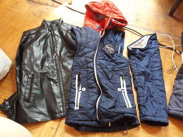 Куртки для мальчика 10-11лет, экокожа сост.отличное