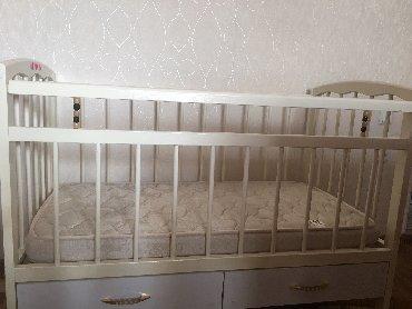 Продаю детскую кроватку Диана с матрасом.Состояние хорошее,ящики выд