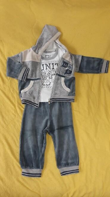Ostala dečija odeća | Valjevo: Trenerkica i majica na dug rukav. nasa proizvodnja. Velicina 1