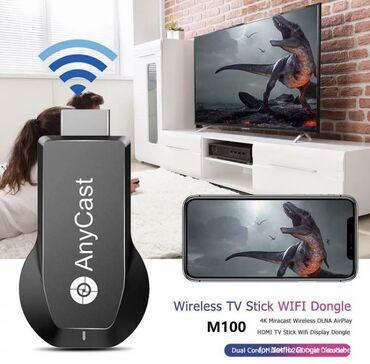 Anycast TV Stick 1080P M4 TV Dongle беспроводной DLNA AirPlay Mirror