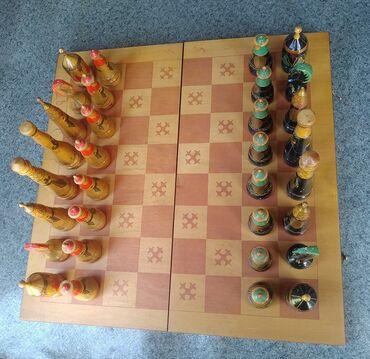 Шахматы - Бишкек: Советские шахматы, подарочные, национальные. Новые, не пользованные