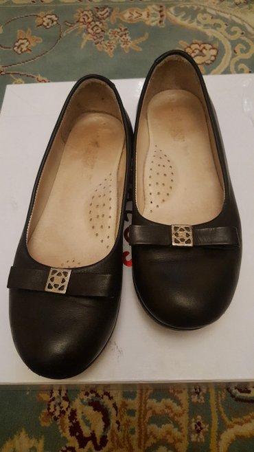 Продаю кожанные турецкие туфли-балетки 35 размер в Бишкек