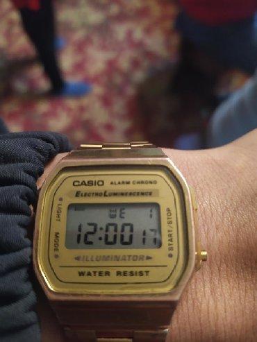 gold часы в Кыргызстан: Золотистые Мужские Наручные часы Casio
