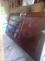 Izuzetno kvalitetna i masivna vrata od slavonskog hrasta,u odlicnom st - Kragujevac