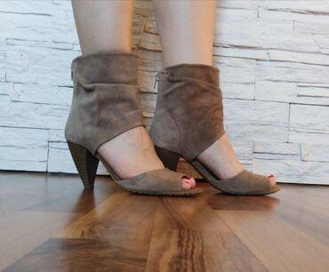 Posao u inostranstvu - Srbija: Prelepe letnje cizme broj 38, duzina gazista 25 cm, kupljene u