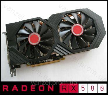 Продаю не спеша видеокарту от amd  Radeon Rx 580 8gb Samsung Состояни