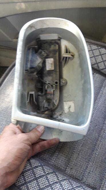Корпус бокового зеркала левый на мерседес w211 + механизм не рабочий